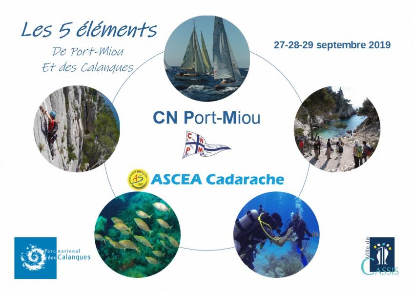 «les 5 éléments de Port Miou»